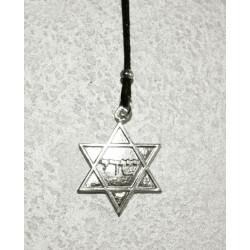 Collana Stella di Davide in Argento 925°°°