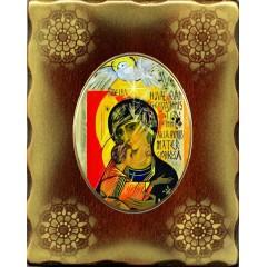 Icona in Porcellana con Madonna Terzo Millennio