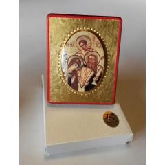 La Sacra Famiglia 8x10x1,3 cm