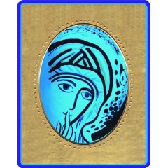 Madonna del Silenzio 8x10x1,3 cm