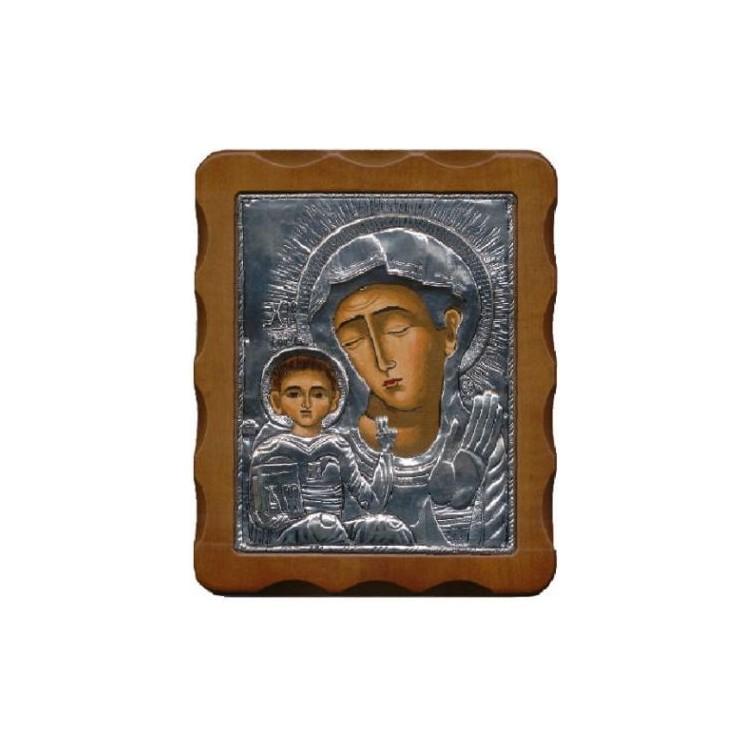 Madonna di KIKO dipinta a mano 20x24 cm.