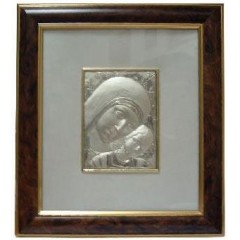 Madonna di KIKO con Cornice Semplice