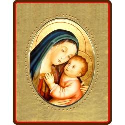 La Madonna del Buon Consiglio 8x10 cm.