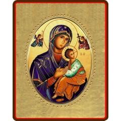 La Madonna del Perpetuo Soccorso 8x10 cm.