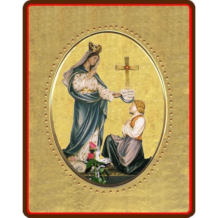 La Madonna di Porzus 8x10 cm.