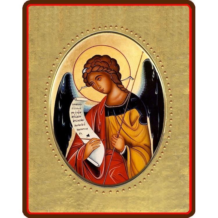 Arcangelo Gabriele 8x10 cm.