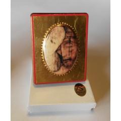 Cristo Eucaristico 8x10 cm.