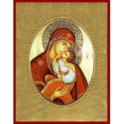 La Madonna dell'Incarnazione  15x20 cm.