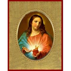 Sacro Cuor di Gesù 15x20 cm.