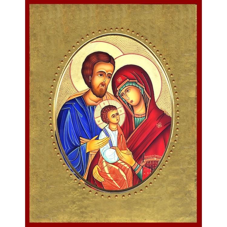 Sacra Famiglia 15x20 cm.