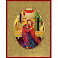 Sant' Anna e Gioacchino 15x20 cm.
